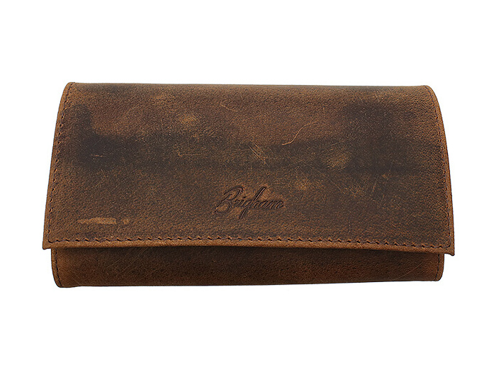 Brigham Vintage tobacco rollup pouch