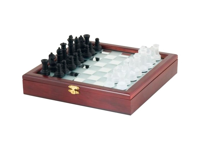 Mirror Board chess set