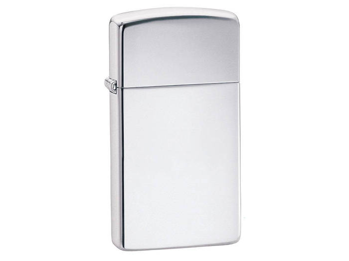 Zippo Slim High polised Chrome lighter