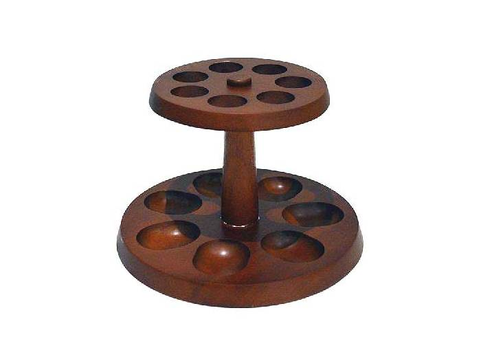 Seven stand pipe holder
