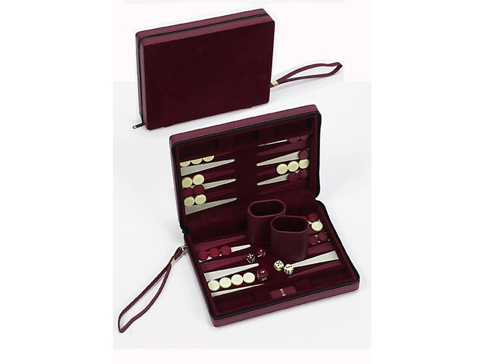 Zippered Magnetic Backgammon set