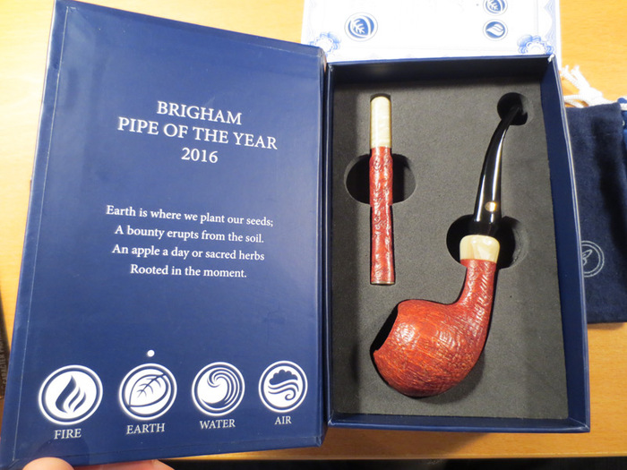 Brigham Pipe of the Year 2016