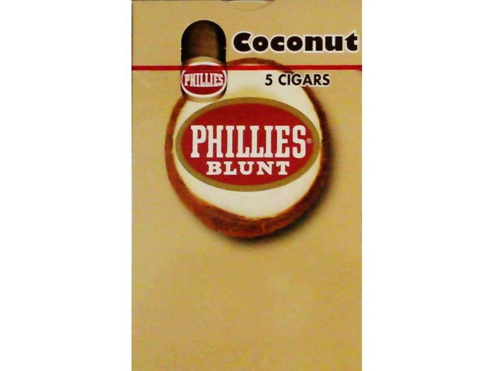 Phillies Blunt Coconut cigars