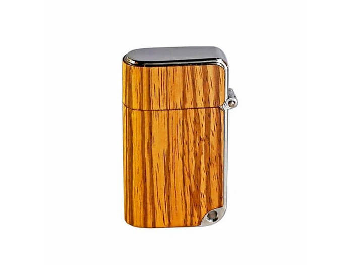 The Nano Series 2 lighters Zebrawood