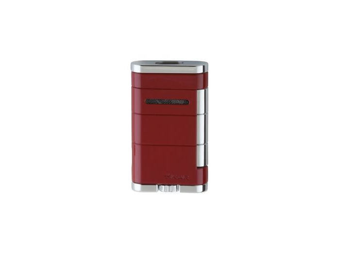 Xikar Allume double flame lighter Riot Red
