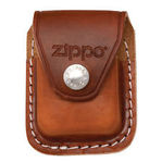 Zippo Brown leather lighter pouch